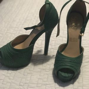 Shoes - Stefano Di Roma-Green sandals